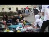 Одесские Малолетки Делают Коктейль Молотова 02.05.2014